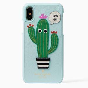 Kate Spade 8 Plus iPhone Cactus Hug Me Cover